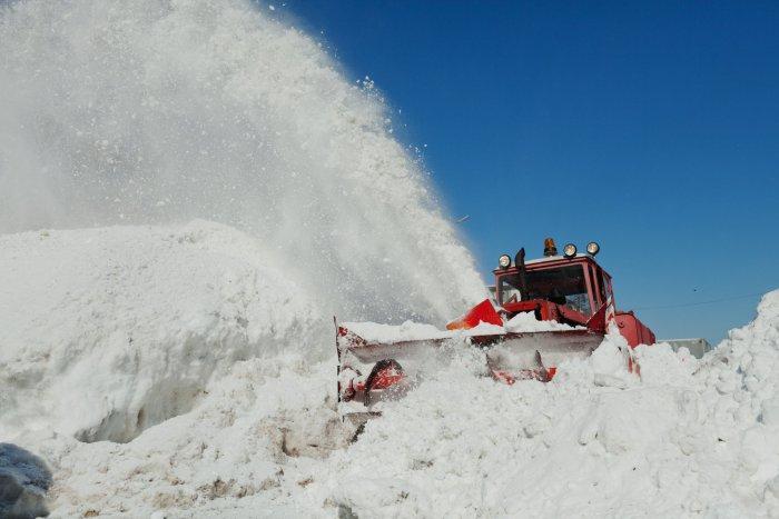 Opérations de soufflage de neige