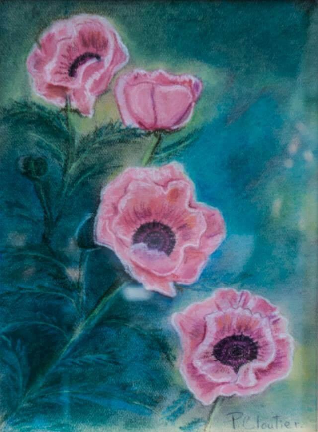 Vernissage de l'exposition Peindre sa vie de l'artiste Paulette Cloutier
