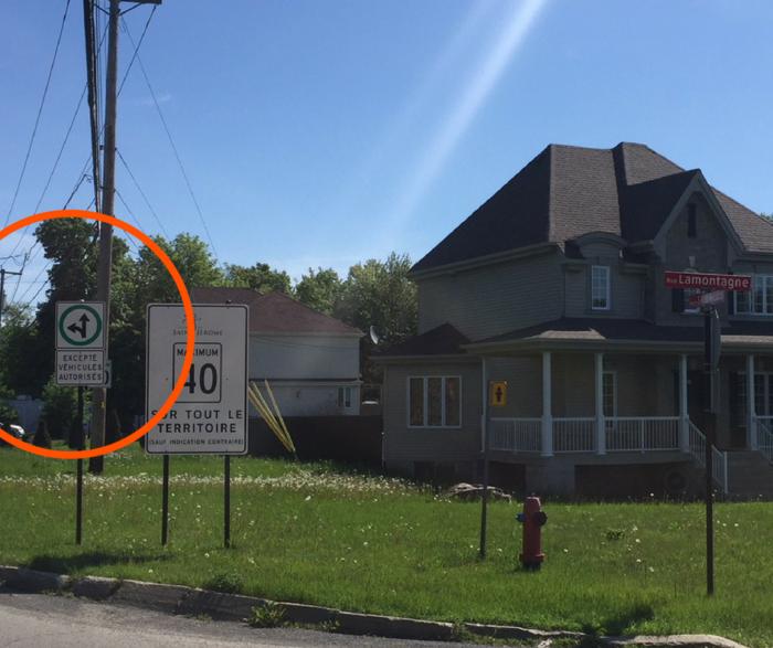 Modification à la signalisation de l'intersection Saint-Nicholas/Lamontagne