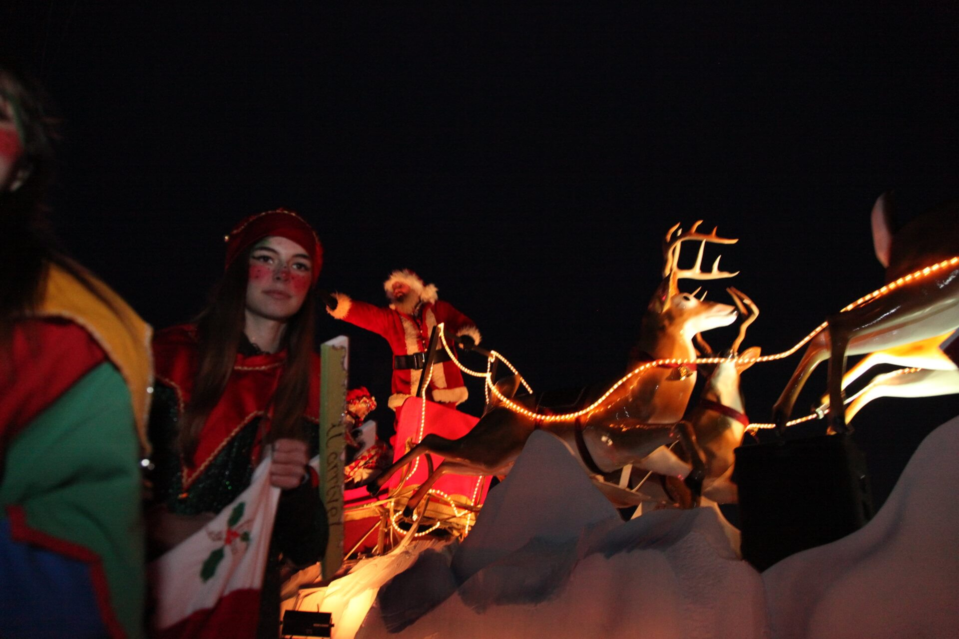 Défilé de Noël de Saint-Colomban : près de 4000 visiteurs pour la première édition!