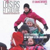 Le Guide loisirs et culture hiver/printemps 2019 est maintenant disponible!