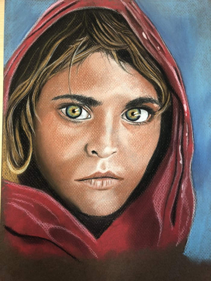 Cours de dessin au pastel sec – Les portraits (12 à 16 ans)