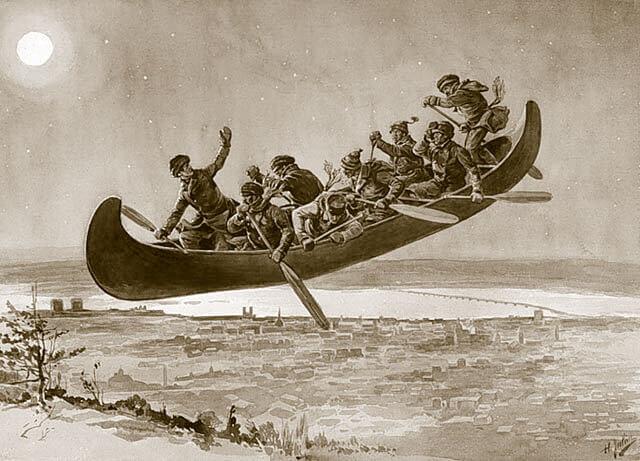 Le tour du Québec en contes et légendes