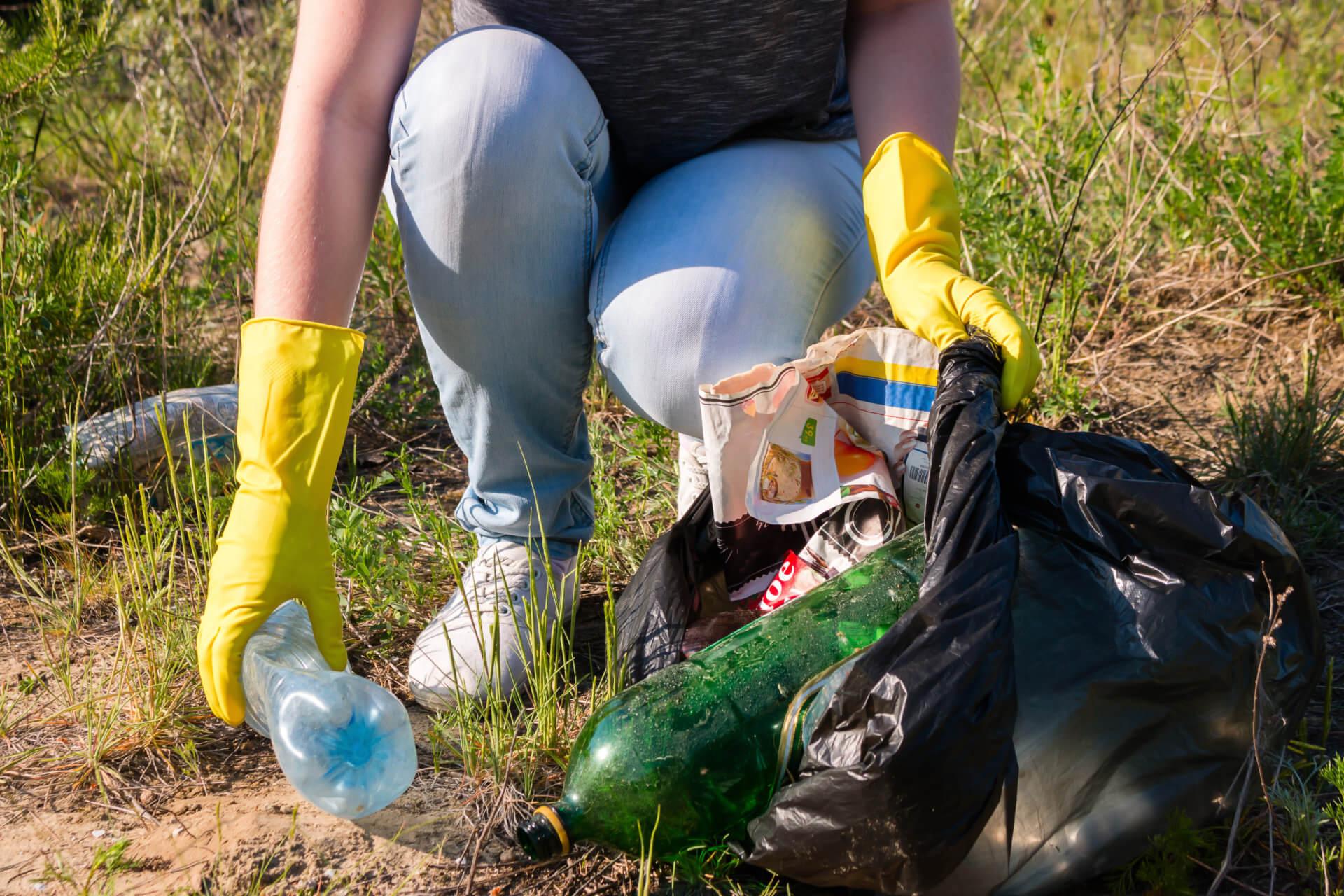 Corvée de nettoyage à l'occasion du Jour de la Terre