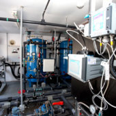 Fin des épisodes d'eau noire: le traitement du fer et du manganèse maintenant en fonction aux aqueducs Phelan et Larochelle