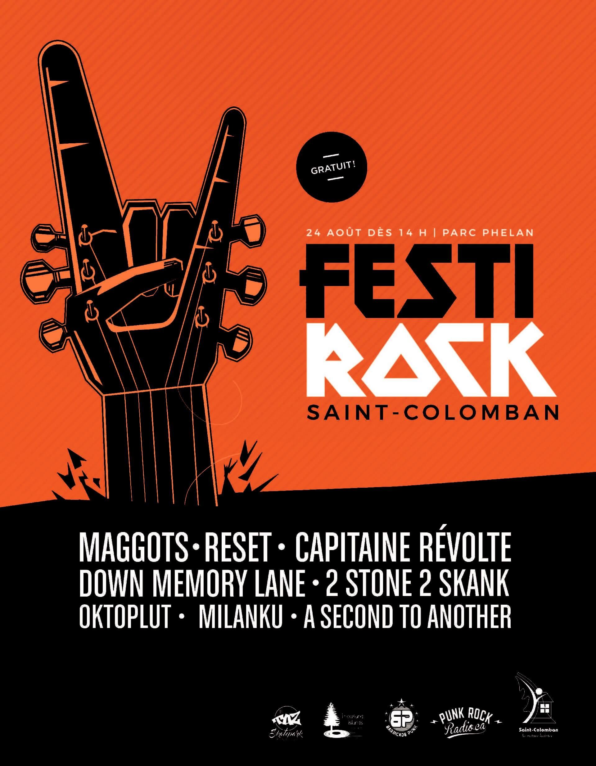 FestiRock de Saint-Colomban – 1re édition!
