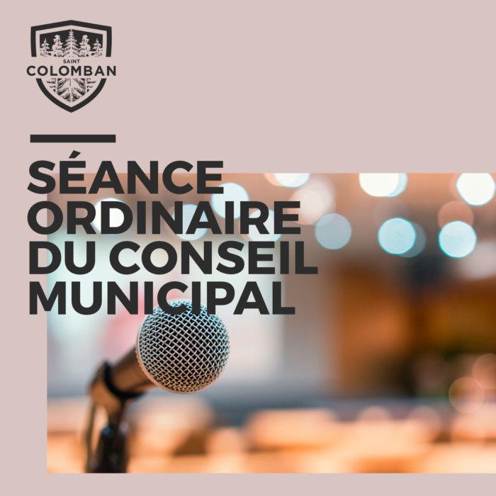 COVID-19: La séance du conseil municipal
