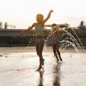 Utilisation des jeux d'eau et des parcs Phelan et à l'Orée-des-Bois