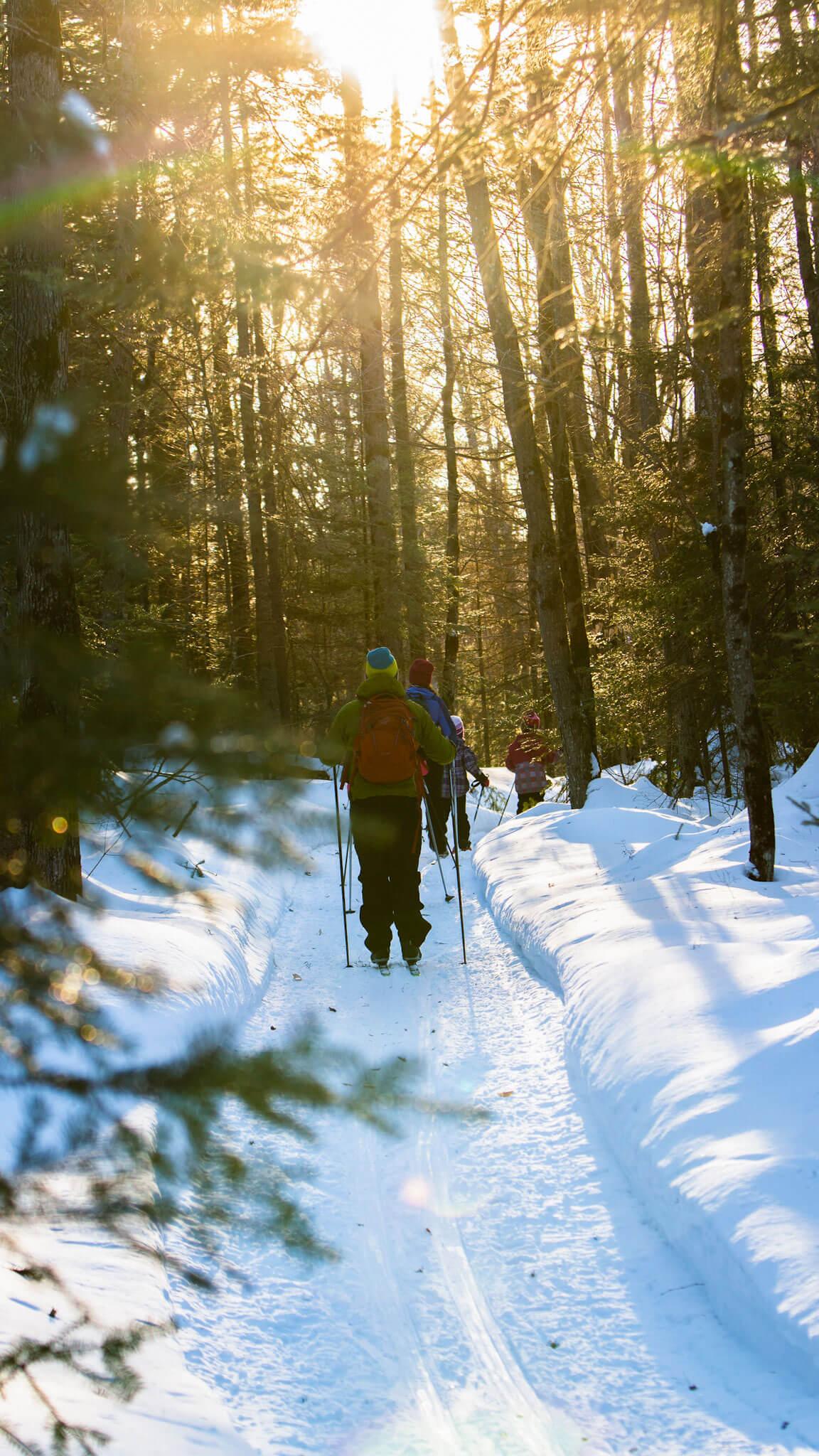 Le ski de fond à Saint-Colomban? Un secret bien gardé, mais trop souvent malmené…
