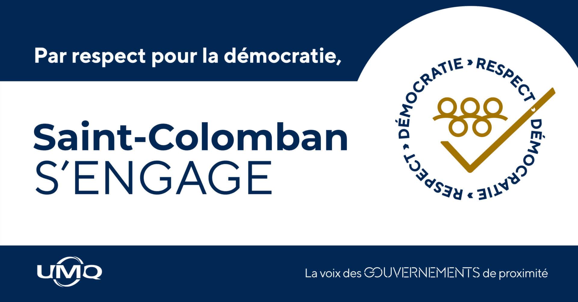 La Ville joint sa voix à une campagne nationale sur le respect de la démocratie
