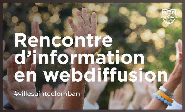 Rencontre d'information – projet de règlement 3001-20201-13 – Secteur Bonniebrook