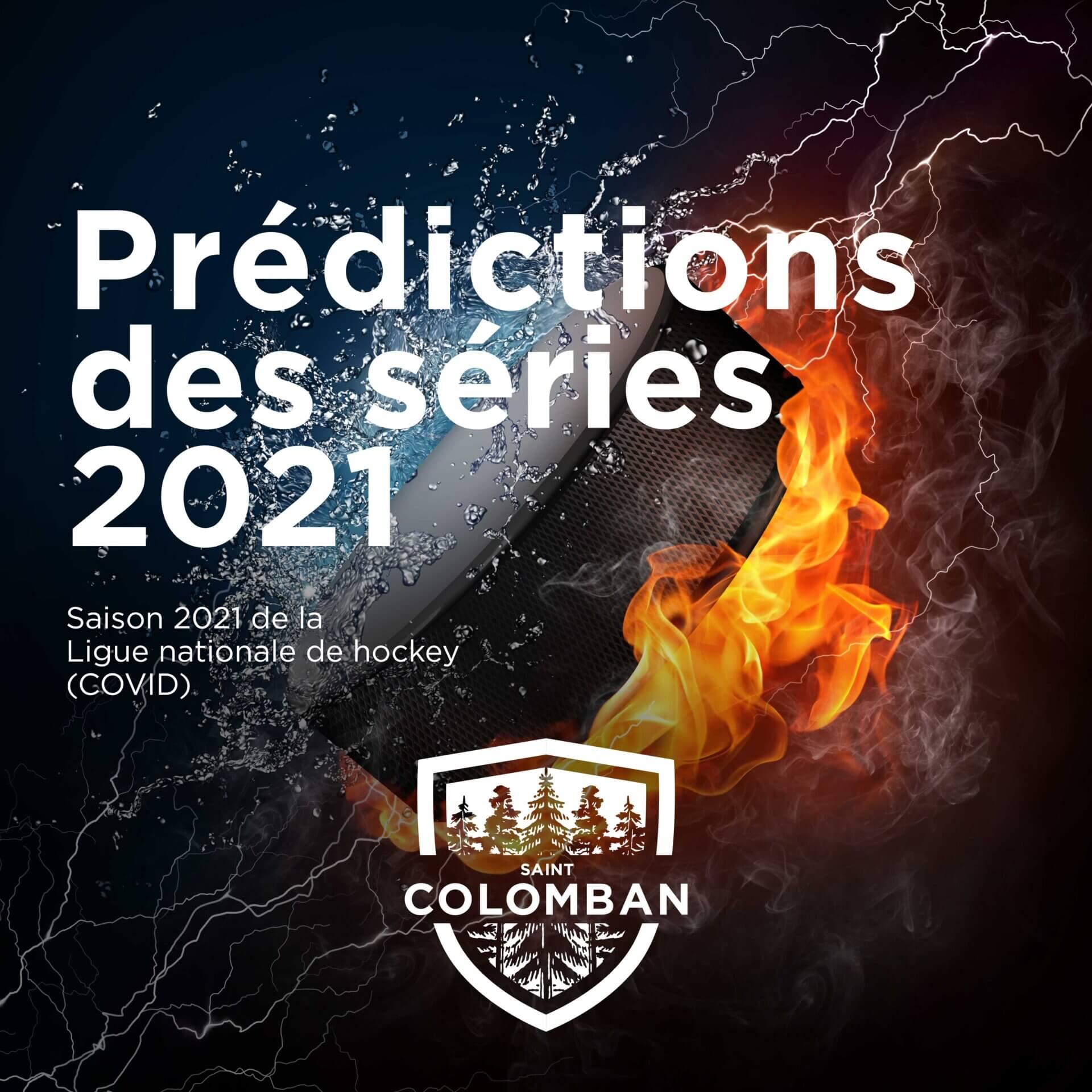 Prédictions des séries éliminatoires LNH 2021