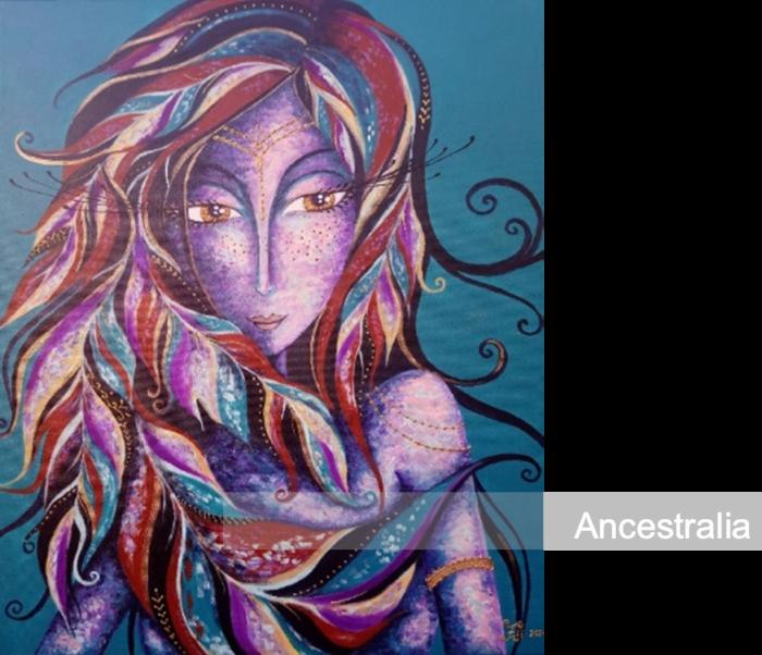 Expo d'arts visuels : Les femmes sacrées