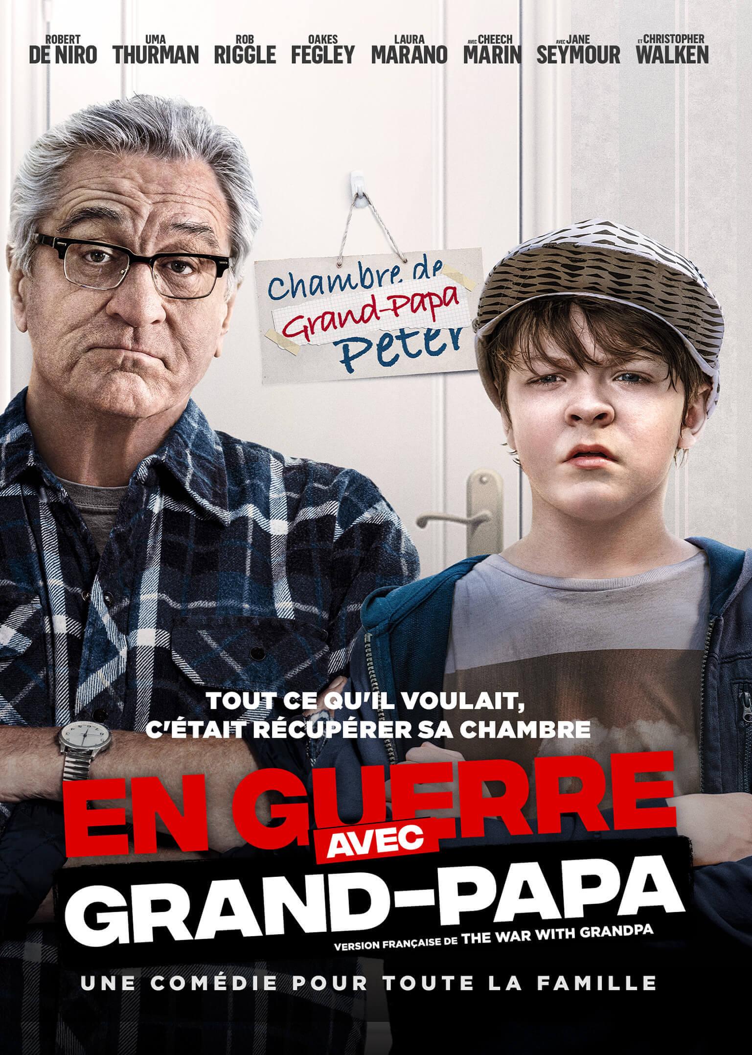 Cinéma plein air : En guerre avec grand-papa