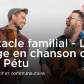 Spectacle familial | Le voyage en chanson des Pères Pétu