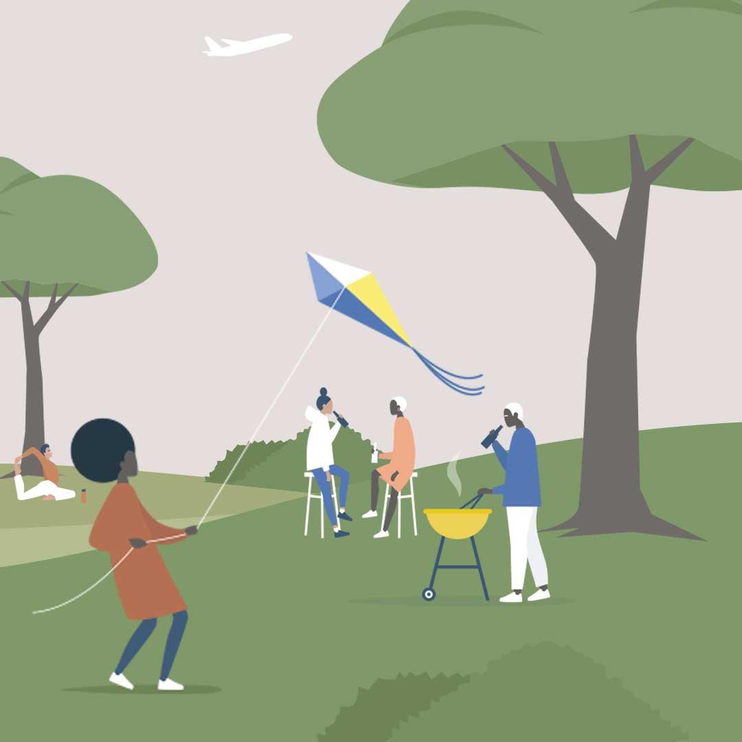 Lancement Vie de quartier au parc Larochelle