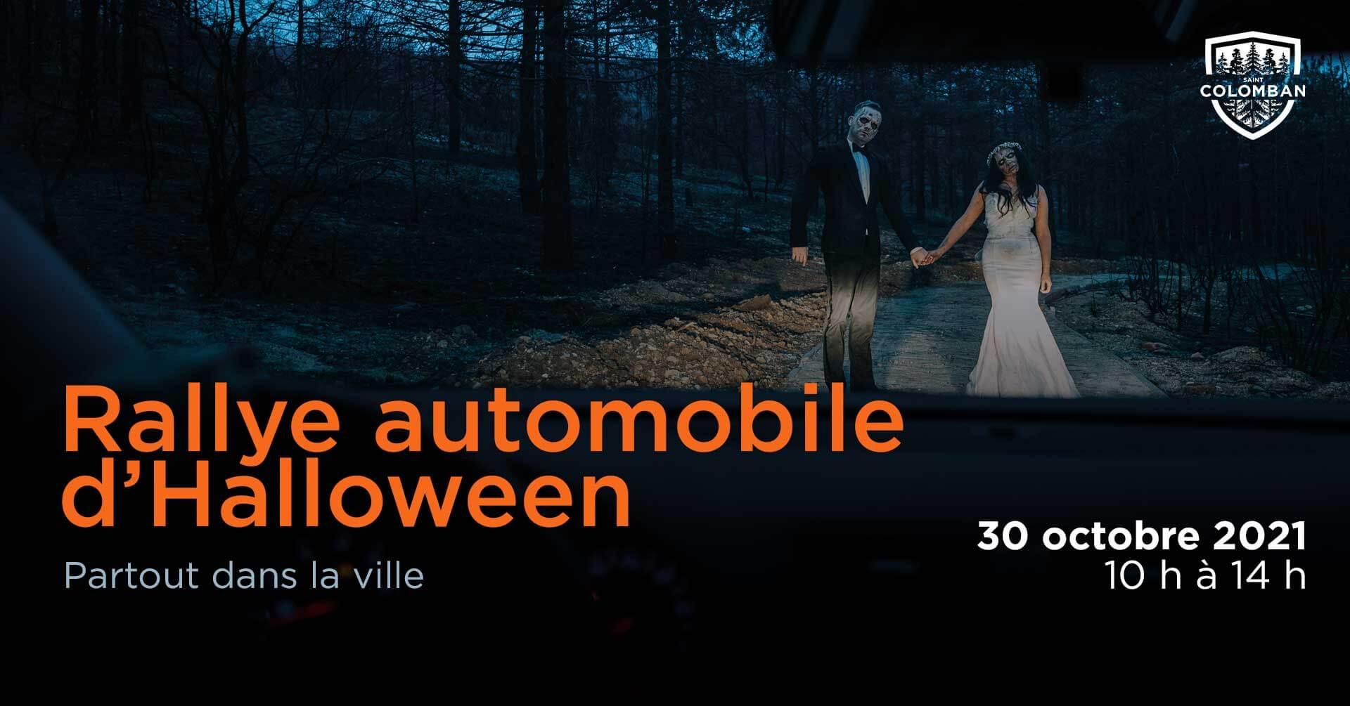 Rallye automobile d'Halloween Gratuit