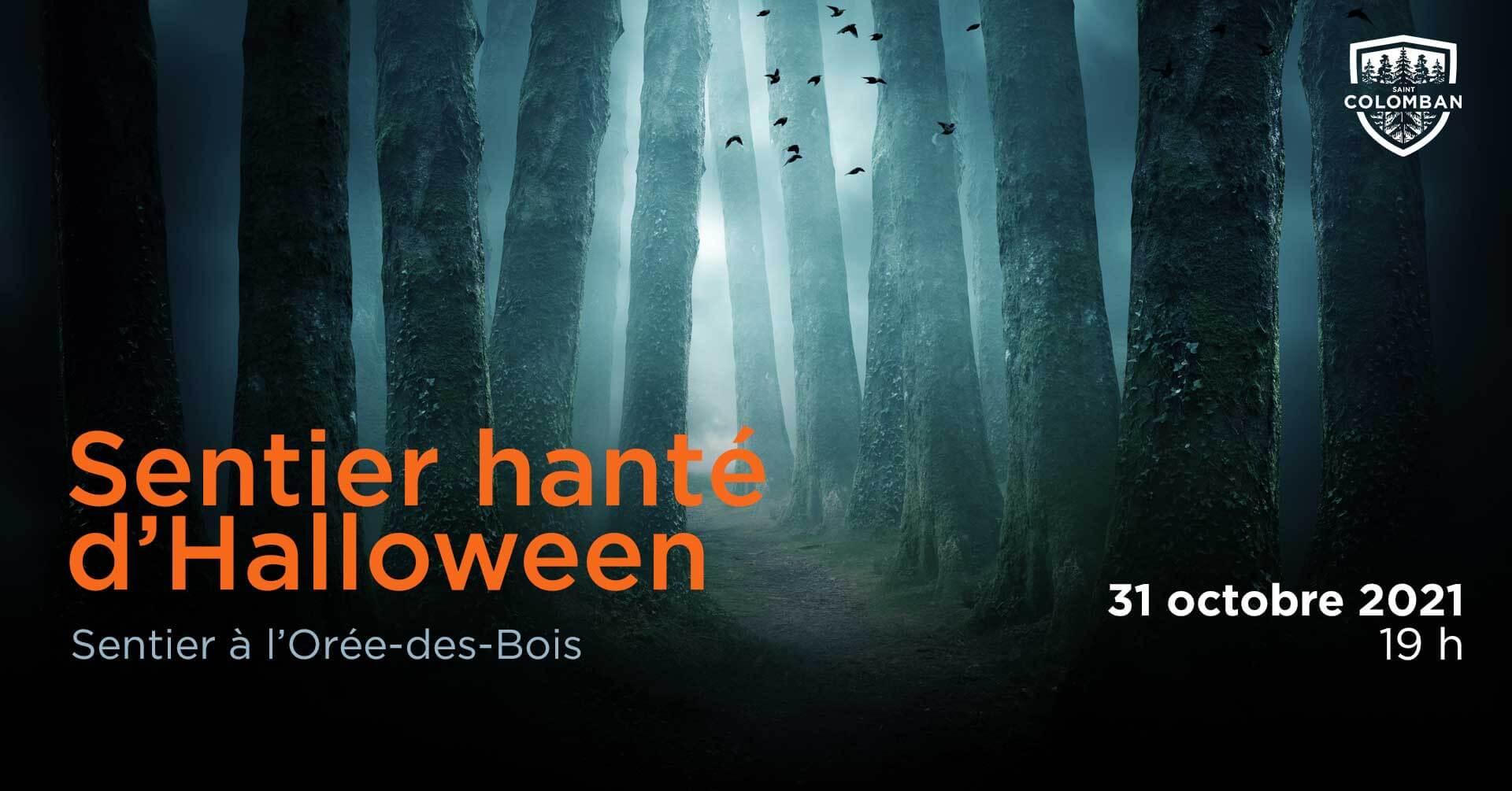 Sentier hanté d'Halloween