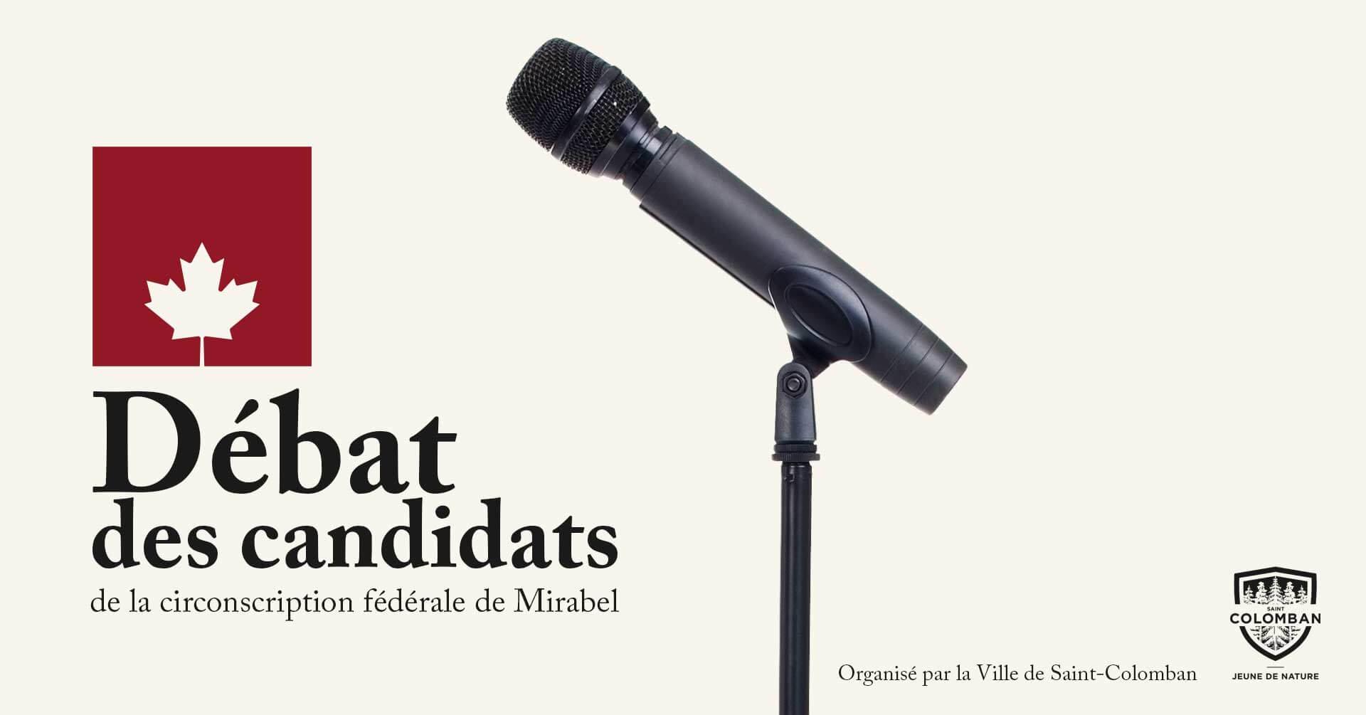 Débat des candidats fédéraux dans Mirabel